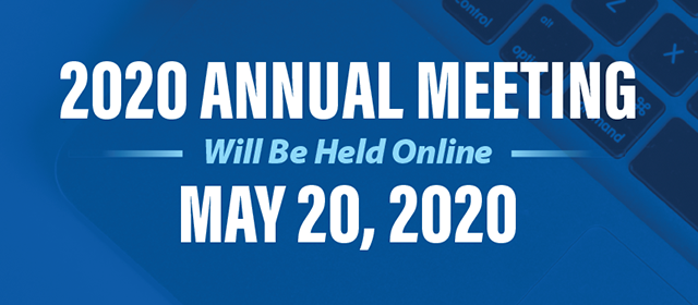2020 Annual Meeting Notice