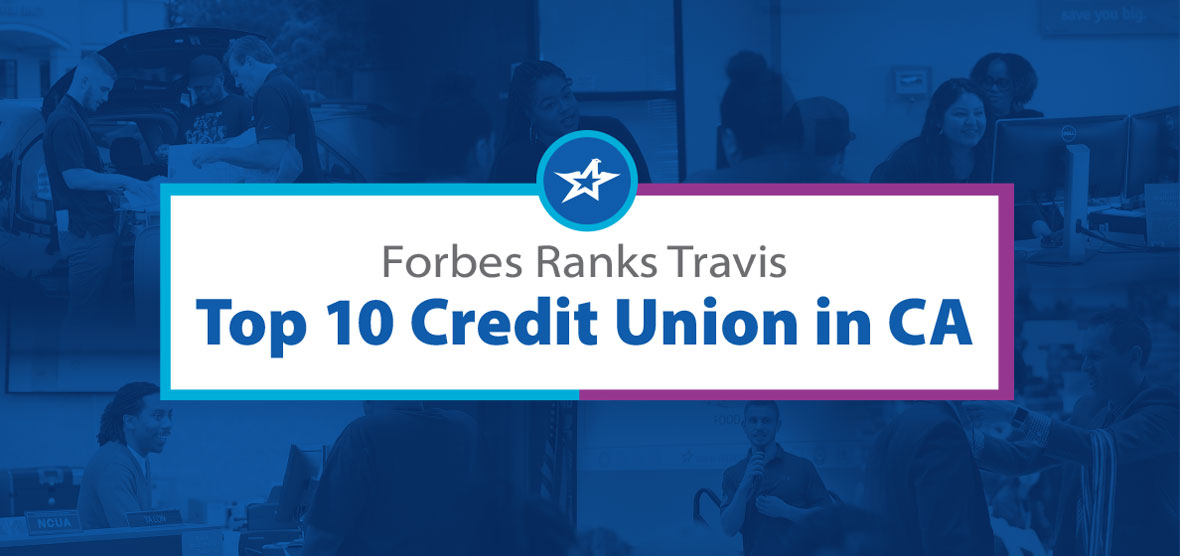 Forbes: Top 10 Credit Unions in California
