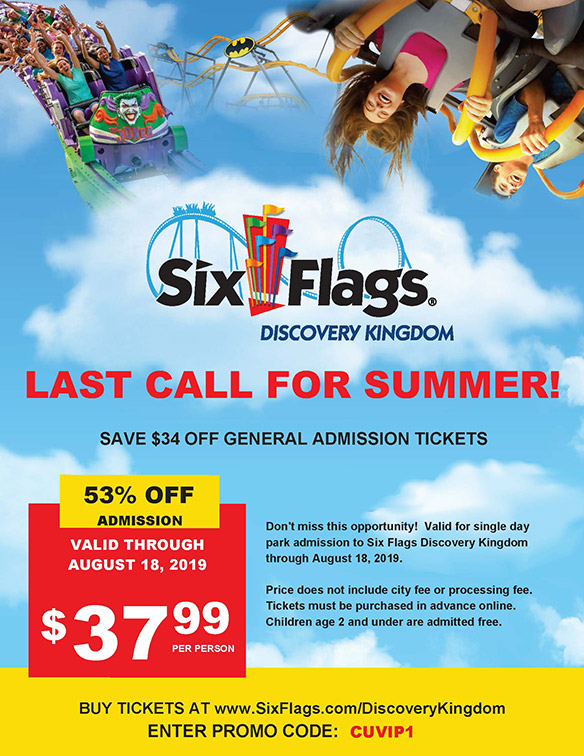 Six Flags Coupon