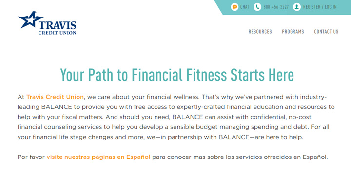 BALANCE Financial Fitness