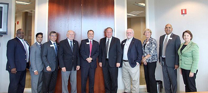 CU leaders meet Assemblyman Bill Dodd
