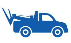 icon Tow Truck - 24 hour roadside assistance